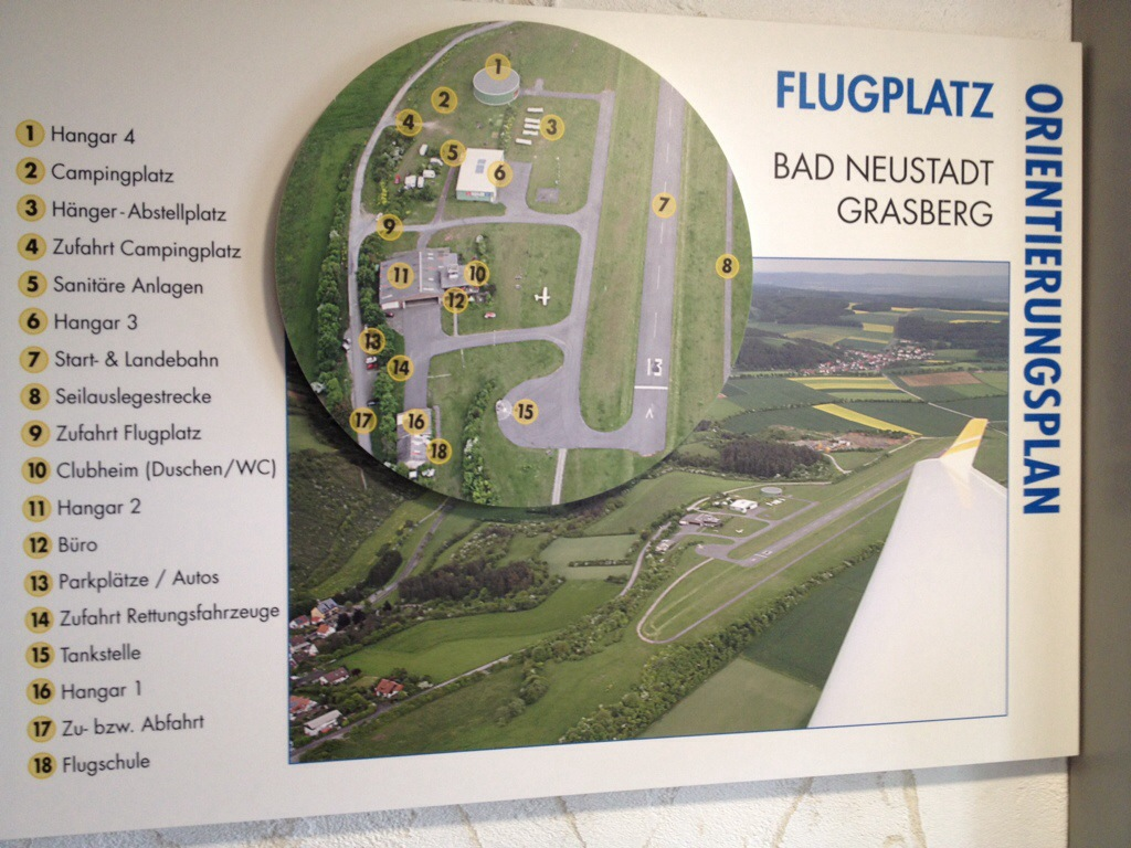 Mellanlandning på Bad Neustadt