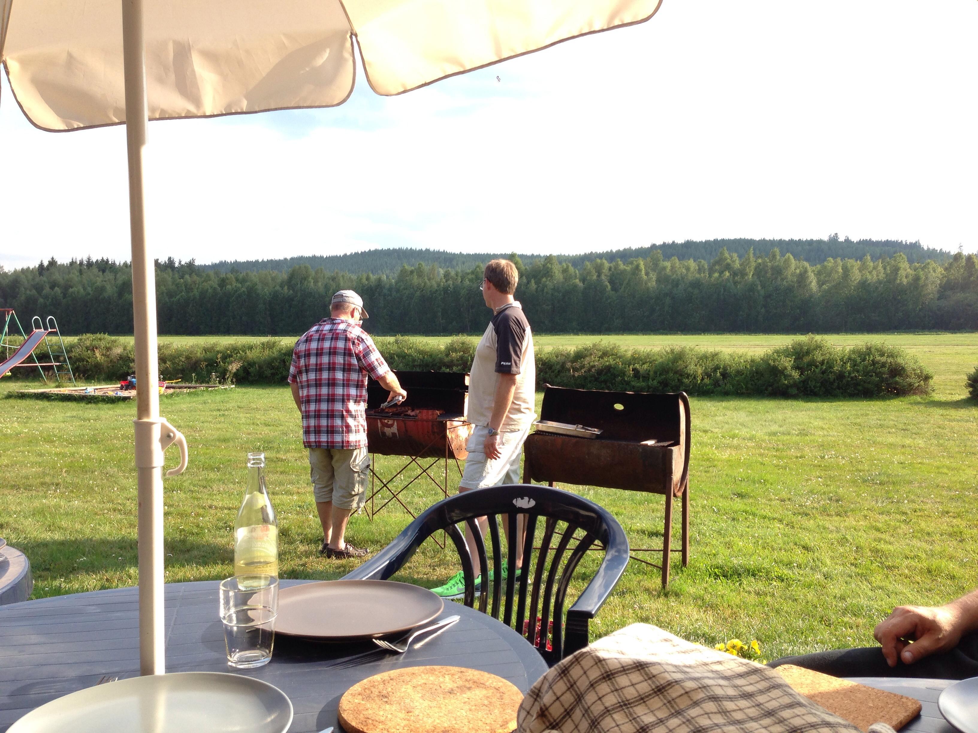 Grillkväll på Siljansnäs