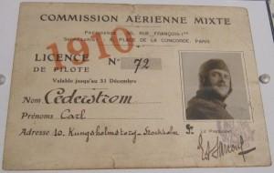 Cederströms certifikat